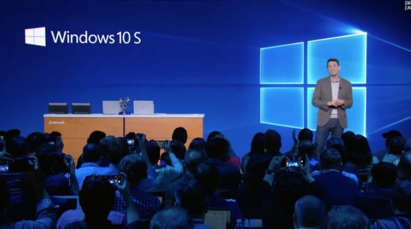 Microsoft Launch Windows 10S